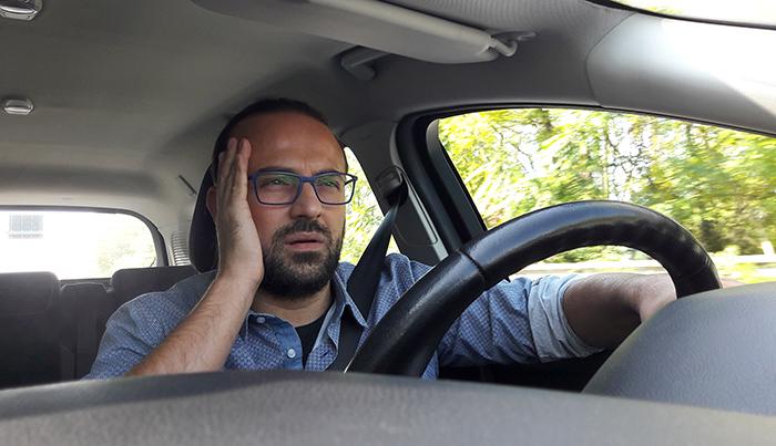 運転が大変